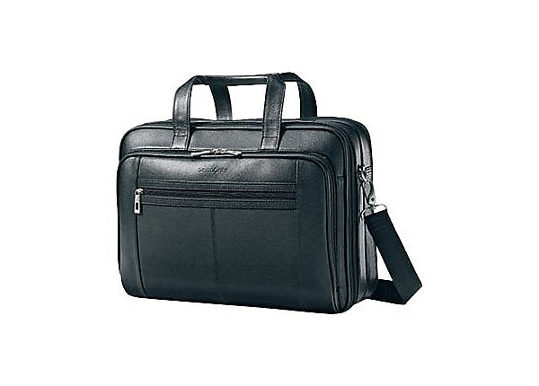 Samsonite Checkpoint Friendly Leather Business Case - notebook carrying cas