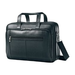 Samsonite Checkpoint Friendly Leather Business Case notebook carrying case