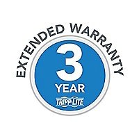 Tripp Lite 3-Year Extended Warranty for select Products - extended service