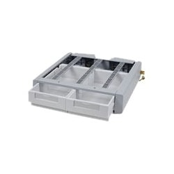 Ergotron StyleView SV Supplemental Storage Drawer, Double - mounting compon
