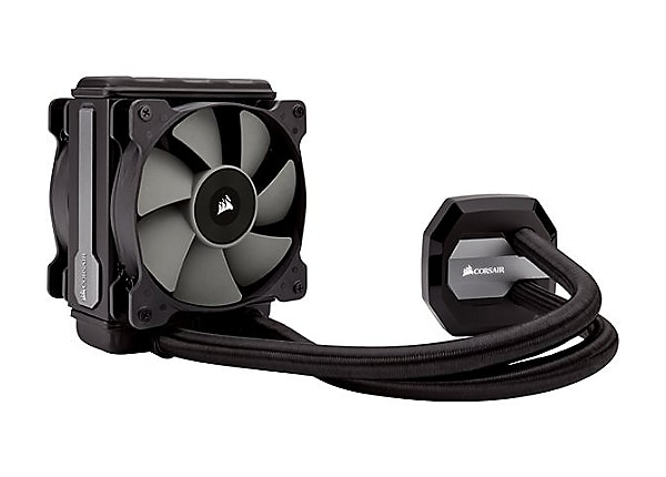 CORSAIR Hydro Series H80i v2 High Performance Liquid CPU Cooler processor l