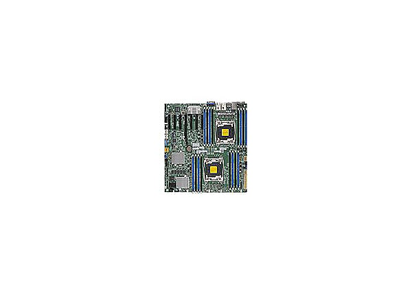 SUPERMICRO X10DRH-CT - motherboard - extended ATX - LGA2011-v3 Socket - C61