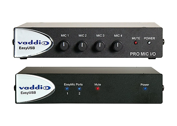 Vaddio EasyTALK Audio Bundle System F analog mixer - 4-channel