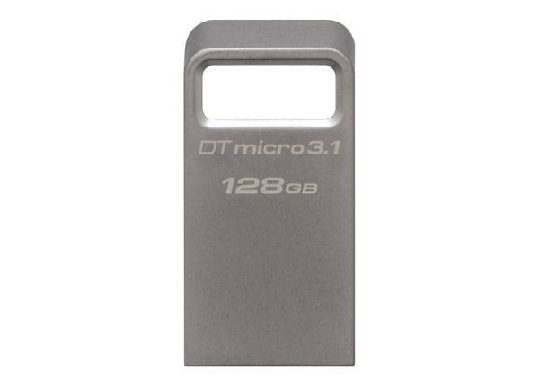 Kingston DataTraveler Micro 3.1 - USB flash drive - 128 GB