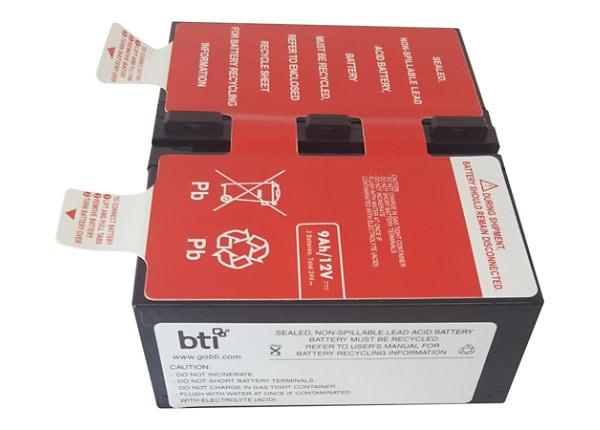 BTI - UPS battery - lead acid - 9 Ah