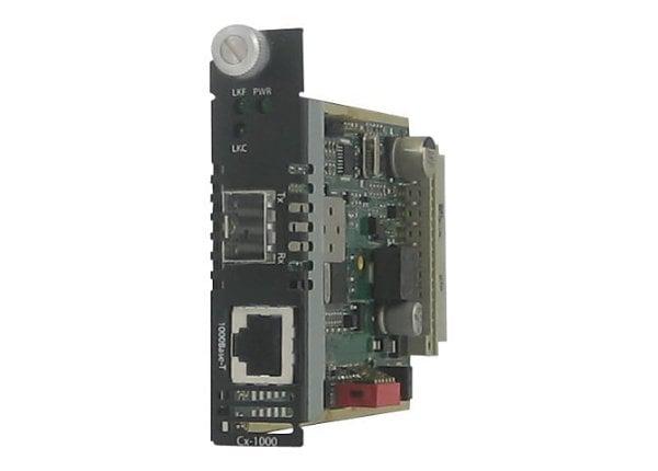 Perle CM-1110-SFP - fiber media converter - GigE