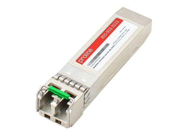 Proline Cisco DWDM-SFP10G-33.47 Compatible SFP+ TAA Compliant Transceiver -