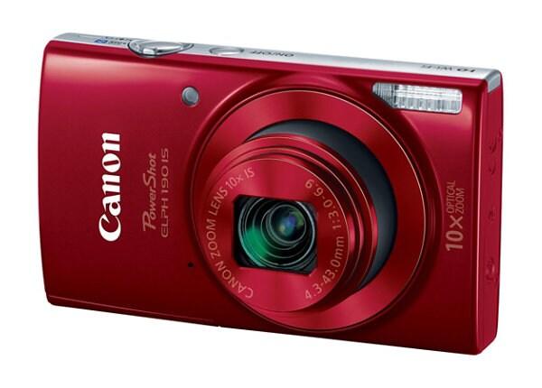 Canon PowerShot ELPH 190 IS - digital camera