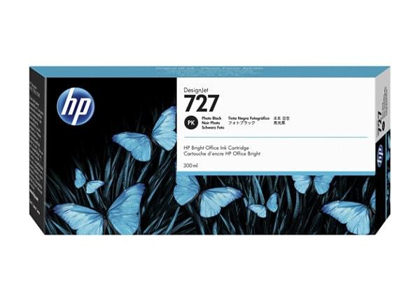 HP 727 - dye-based photo black - original - DesignJet - ink cartridge
