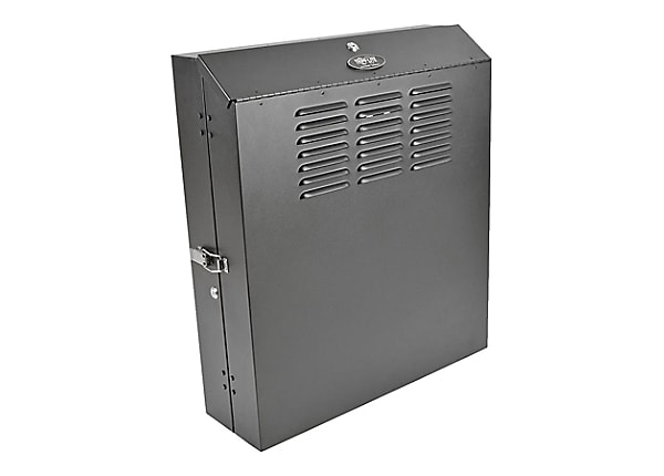 Tripp Lite 4U Wall Mount Rack Enclosure Cabinet Low Profile Vertical Switch