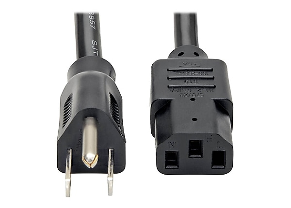 Tripp Lite Heavy Duty Computer Power Extension Cord 14AWG 15A 5-15P C13 12'