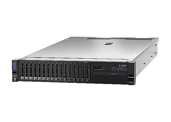 Lenovo System x3650 M5 - rack-mountable - Xeon E5-2620V4 2.1 GHz - 16 GB