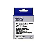 Epson LabelWorks LK-6WBW - tape - 1 roll(s) - Roll (0.94 in x 29.5 ft)