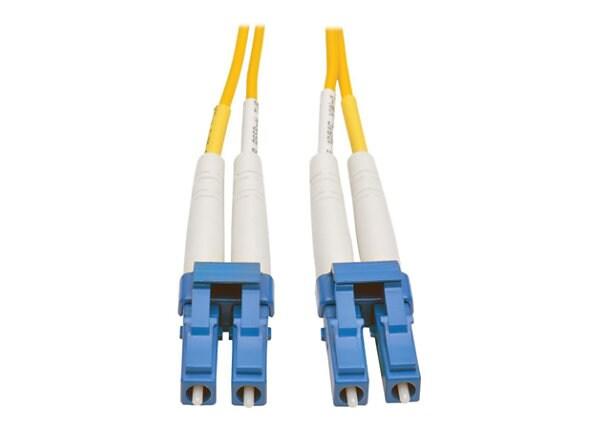 Tripp Lite 50M Duplex Singlemode SSF 8.3/125 Fiber Patch Cable LC/LC 164'