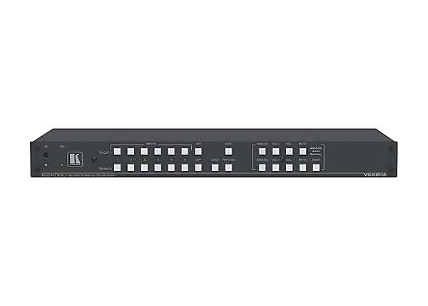 Kramer VS-62HA 6x2 4K UHD HDMI/Audio Automatic Matrix Switcher - video/audi