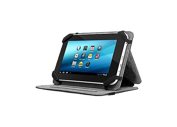 Aluratek Universal Folio Travel - protective cover for tablet