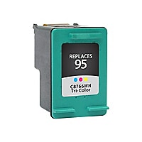 Clover Remanufactured Ink for HP 95 (C8766WN), Tri-Color, 330 page yield