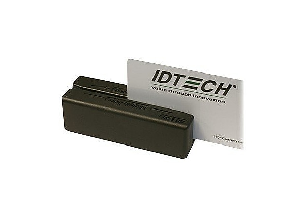 ID TECH MiniMag Duo - magnetic card reader - USB, keyboard wedge