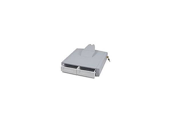 Ergotron StyleView Primary Storage Drawer, Double - mounting component