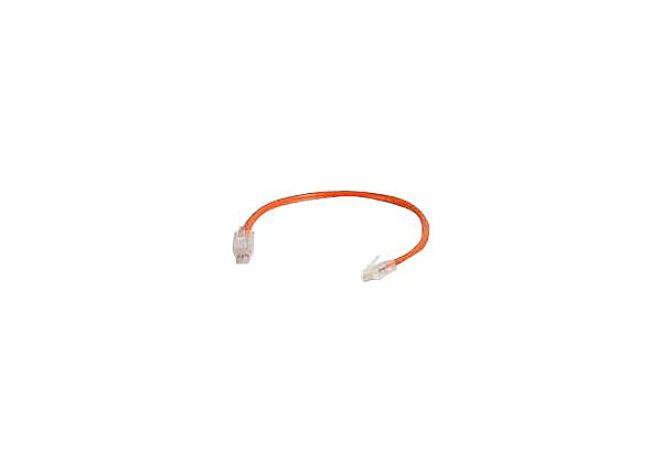 C2G 6in Cat6 Non-Booted Unshielded (UTP) Ethernet Network Patch Cable - Ora
