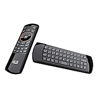 Adesso SlimTouch 4030 - keyboard, mouse and remote control set - black