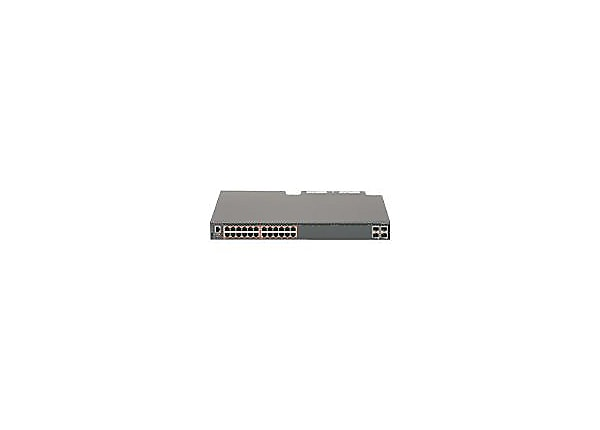 Avaya Ethernet Routing Switch 5928GTS-PWR+ - switch - 24 ports - managed -