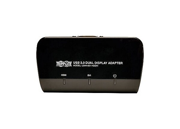 Tripp Lite USB 3.0 to DVI and HDMI Dual Monitor Video Display Adapter