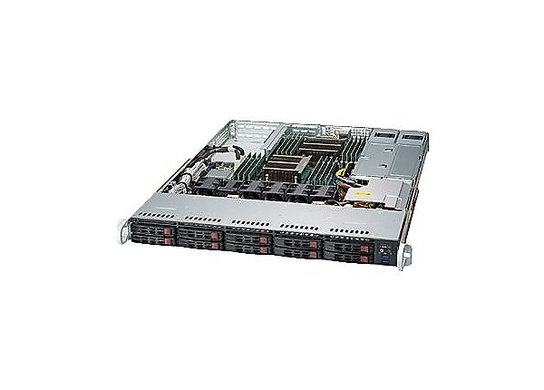Supermicro SuperServer 1028R-WTNRT - rack-mountable - no CPU - 0 MB - 0 GB