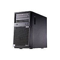 Lenovo System x3100 M5 - compact tower - Xeon E3-1220V3 3.1 GHz - 16 GB - 0