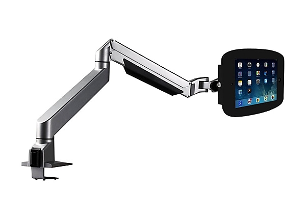 "Compulocks Space Reach iPad 9.7"" Counter Top Articulating Arm Black - mount"
