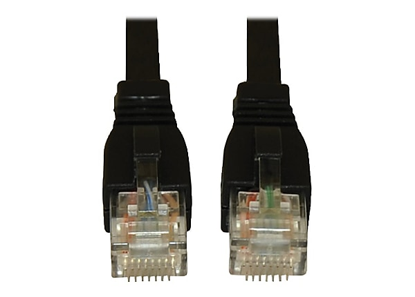 Tripp Lite 20ft Augmented Cat6 (CAT6a) UTP Snagless Patch Cable Black 20'