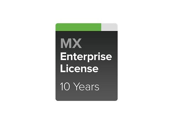 Cisco Meraki MX100 Enterprise License - subscription license (10 years) - 1