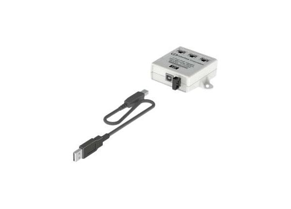 CyberData 3-Port Gigabit Ethernet Switch - switch - 3 ports
