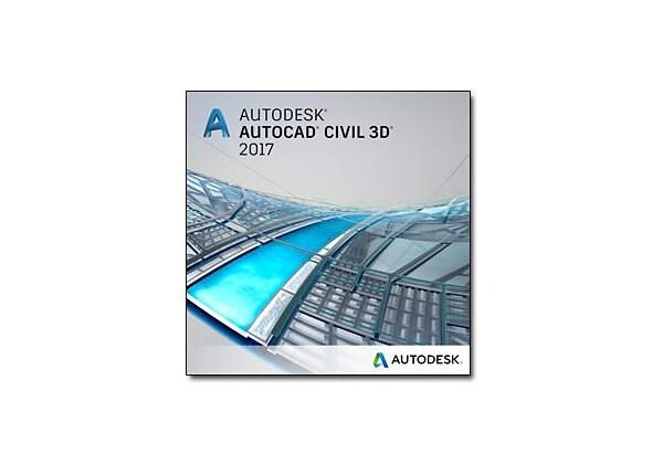 AutoCAD Civil 3D 2017 - New Subscription (quarterly) + Advanced Support - 1