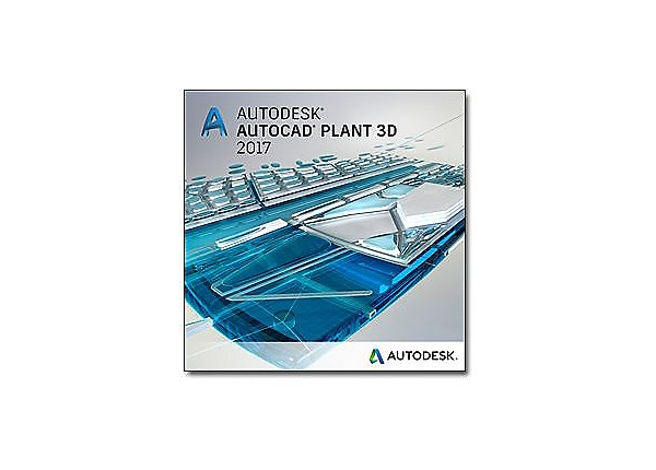 AutoCAD Plant 3D 2017 - New Subscription (3 years) + Advanced Support - 1 a