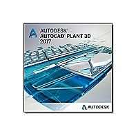 AutoCAD Plant 3D 2017 - New Subscription (quarterly) + Basic Support - 1 ad