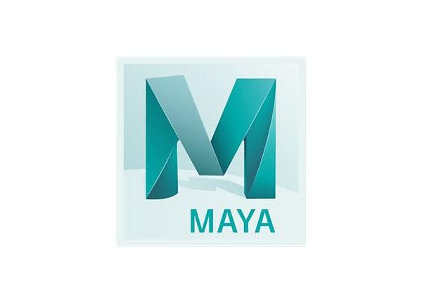 Autodesk Maya - Subscription Renewal (annual) + Basic Support - 1 seat