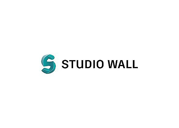 Autodesk Studio Wall 2017 - New Subscription (annual) + Basic Support - 1 s