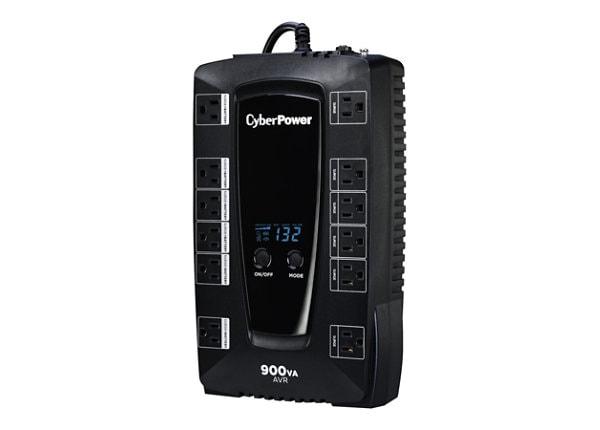 CyberPower Intelligent LCD AVRG900LCD - UPS - 480 Watt - 900 VA