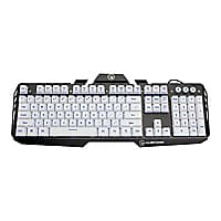 Kaliber Gaming by IOGEAR HVER Aluminum Gaming Keyboard - keyboard - imperia