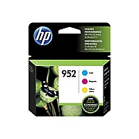 HP 952 - 3-pack - yellow, cyan, magenta - original - ink cartridge