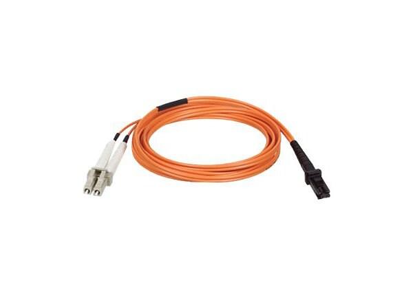 Tripp Lite 1M Duplex Multimode Fiber 62.5/125 Patch Cable MTRJ/LC 3ft