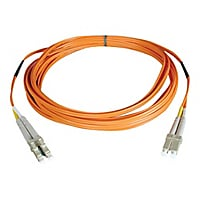 Tripp Lite 10M Duplex Multimode Fiber Optic Patch Cable LC/LC 62.5/125 33ft