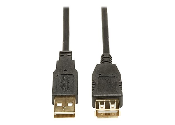 Tripp Lite 6ft USB 2.0 Hi-Speed Extension Cable Shielded A M/F 6'