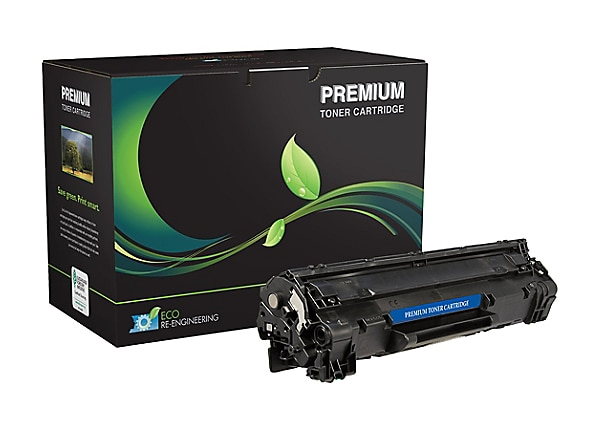 MSE - black - compatible - remanufactured - toner cartridge (alternative fo