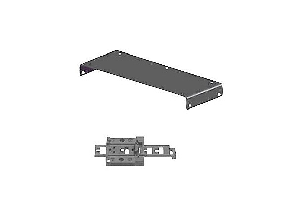 Black Box DIN rail mounting kit