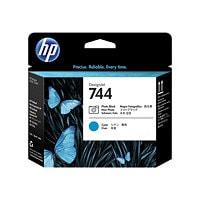 HP 744 - cyan, photo black - printhead