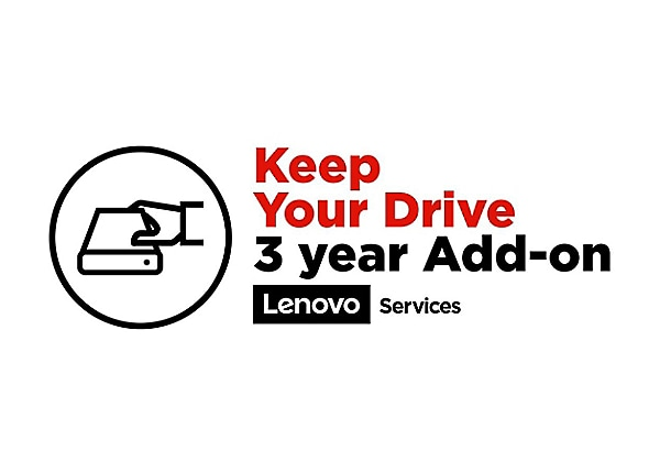Lenovo 3 Year Keep Your Drive Warranty
