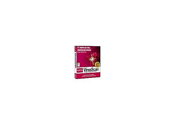 McAfee VirusScan V7.0 Catalog Upsell Promotion