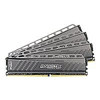 Ballistix Tactical - DDR4 - 32 GB: 4 x 8 GB - DIMM 288-pin